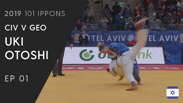 101: Uki Otoshi - CIV v GEO -57kg