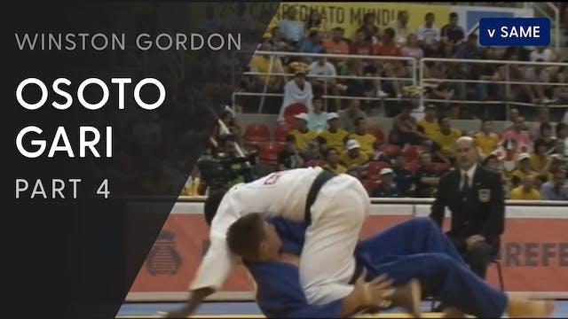 Osoto gari - Execution | Winston Gordon