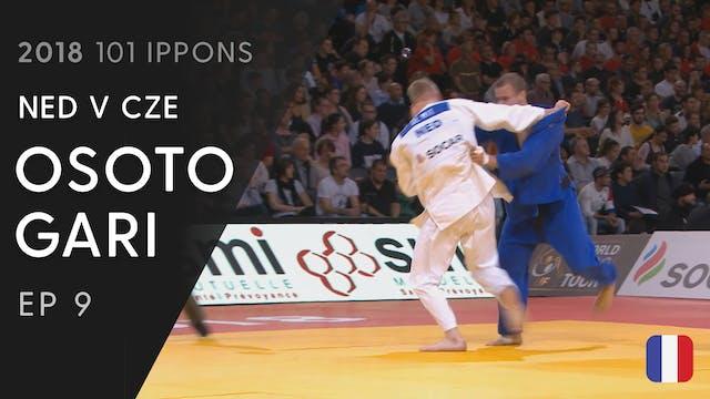 101: Osoto gari - NED v CZE -81kg