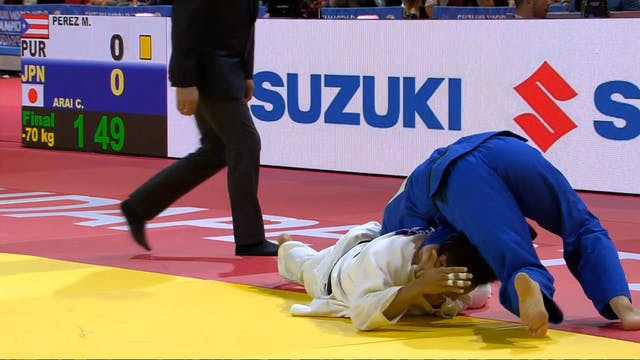101: Shime waza - PUR v JPN -70kg