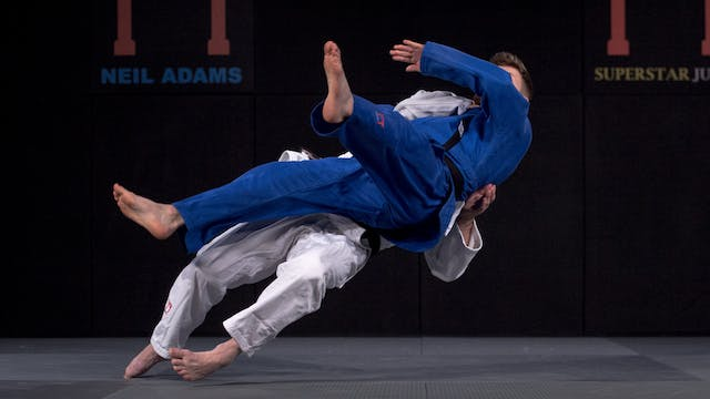 Nagayama's Low Ura nage | Neil Adams