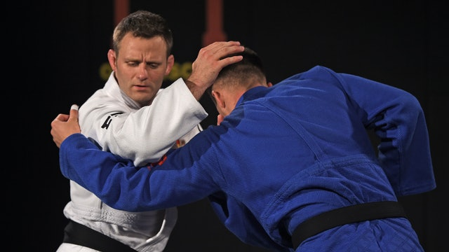 Kumi kata - Getting the arm over in attack | Ole Bischof