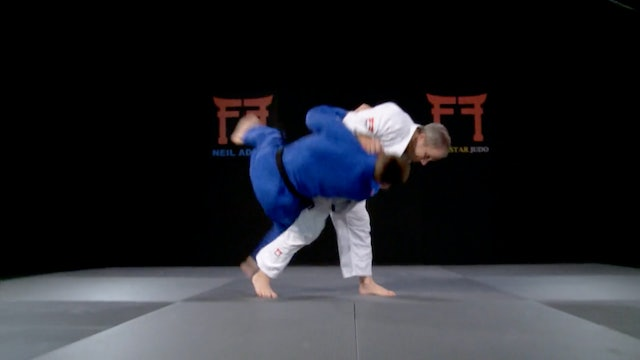 Maeda's Ashi waza combination | Neil Adams