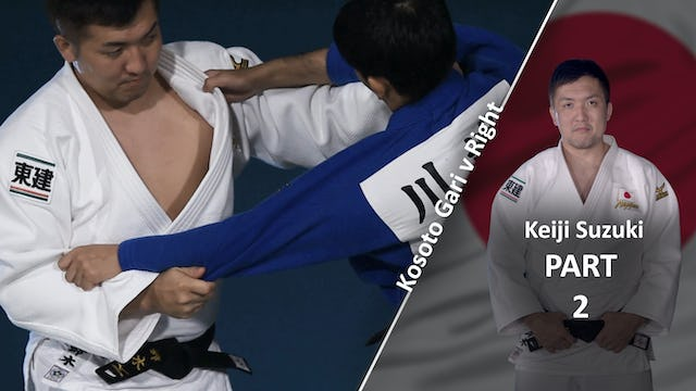 Upper body vs right | Keiji Suzuki