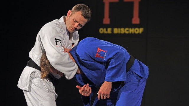 Kumi kata - Cross grip head lock off | Ole Bischof