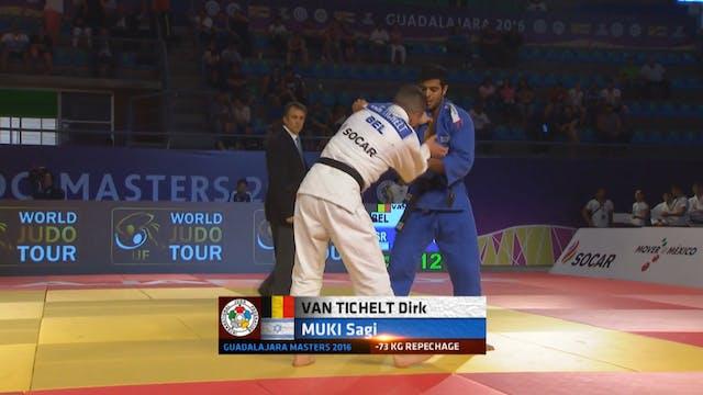 101: Ashi waza - BEL v ISR -73kg