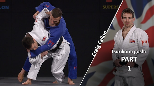 Tsurikomi goshi set-up and entry | Craig Fallon