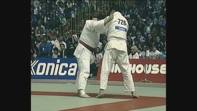 Neil Adams - Tai otoshi - Opposite stance