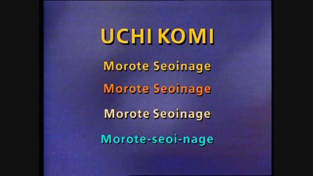 Drop Seoi nage - Uchi komi | Jeon