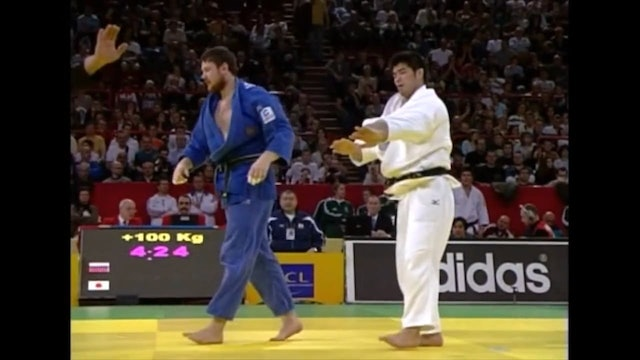 Against Russian left arm | Inoue (FRA)