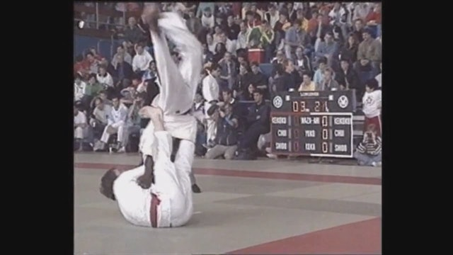 Neil Adams - Tomeo nage - Double footed