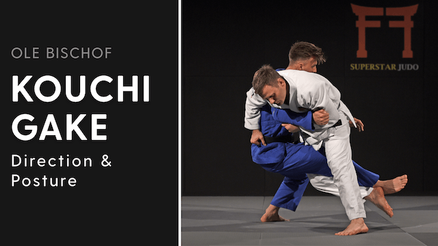 Kouchi gake - Direction and posture | Ole Bischof
