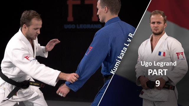 Kumi Kata - Pinning The Sleeve, forearm grip vs opposite | Ugo Legrand