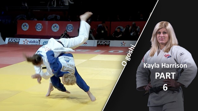 Competition Variations | O Goshi | Kayla Harrison