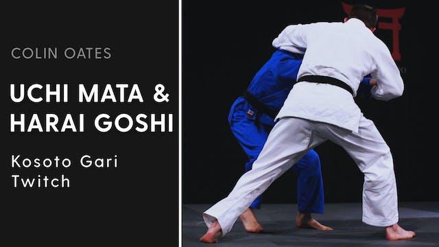 Kosoto Gari Twitch | Uchi Mata & Hara...