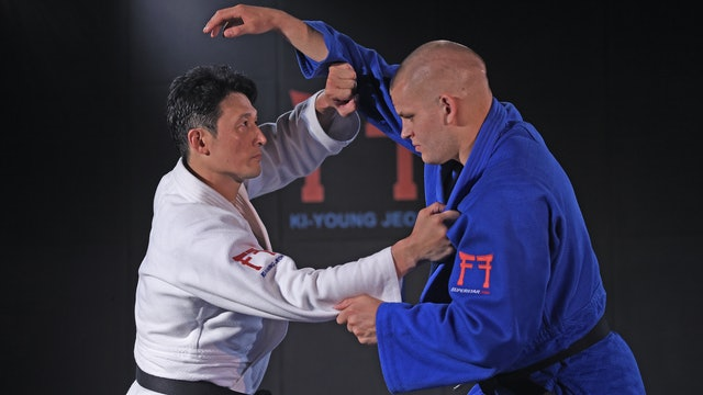 Blocking the arm coming over the top | Korean Judo