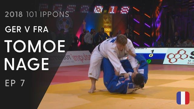 101: Tomoe nage - GER v FRA +78kg