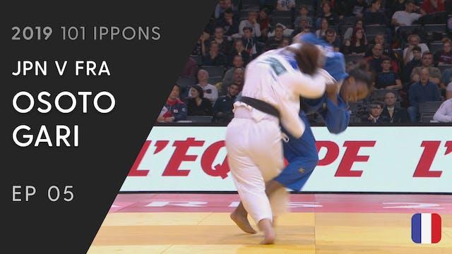 101: Osoto Gari - JPN v FRA -78kg