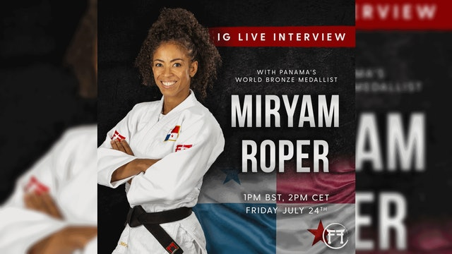 IG Live With Miryam Roper