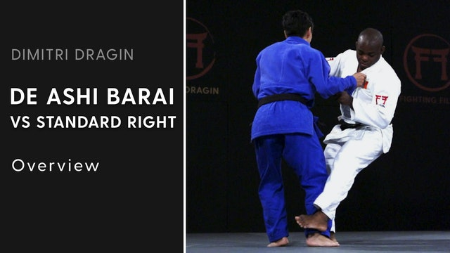 Overview | De Ashi Barai VS Standard Right | Dimitri Dragin