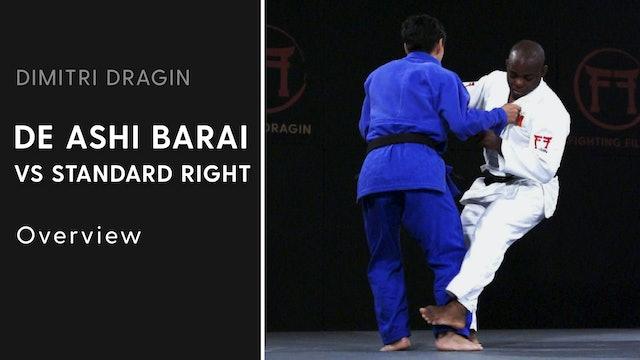 Overview | De Ashi Barai VS Standard Right | Dimitri Dragin