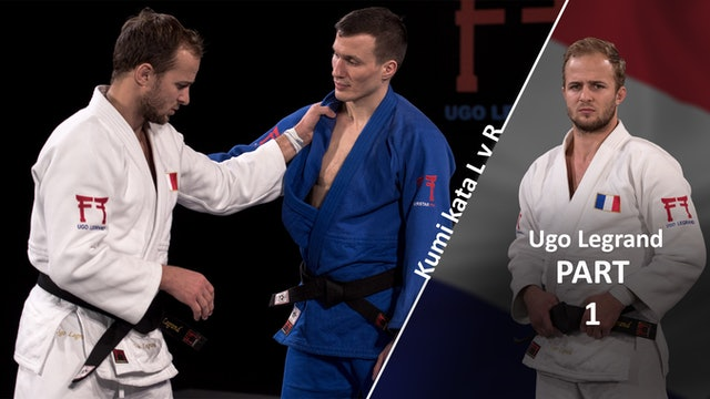 Kumi kata - Controlling the lapel, overview vs opposite | Ugo Legrand