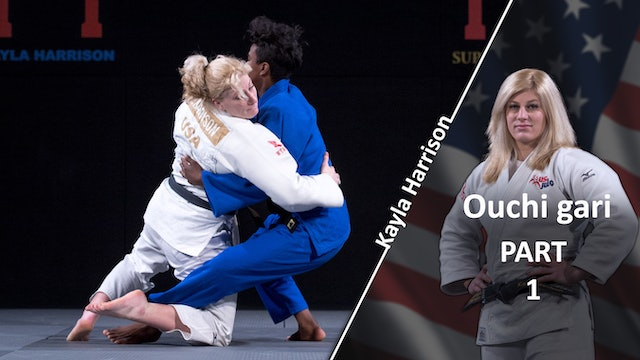 Ouchi gari vs Same | Kayla Harrison