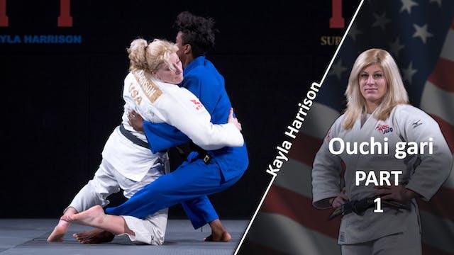 Ouchi gari vs Same | Kayla Harrison