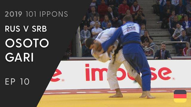 101: Osoto gari - RUS v SRB -90kg