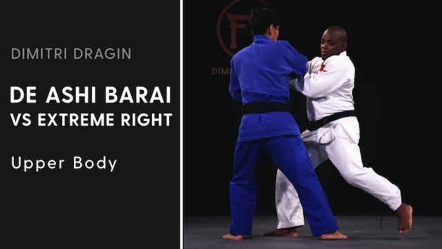 Upper Body | De Ashi Barai VS Extreme Right | Dimitri Dragin