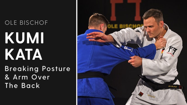 Kumi kata - Breaking posture & arm over back | Ole Bischof