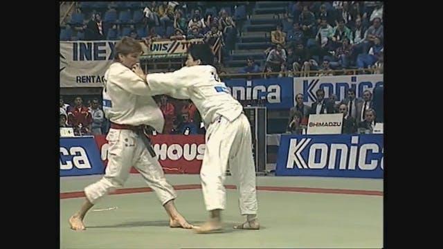 Toshihiko Koga - Kumi kata - right v ...