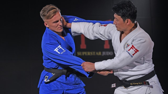 Creating space   Korean Judo