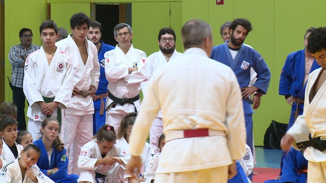 Uchi Komi Masterclass | 2019 International Judo Training Camp Lisbon