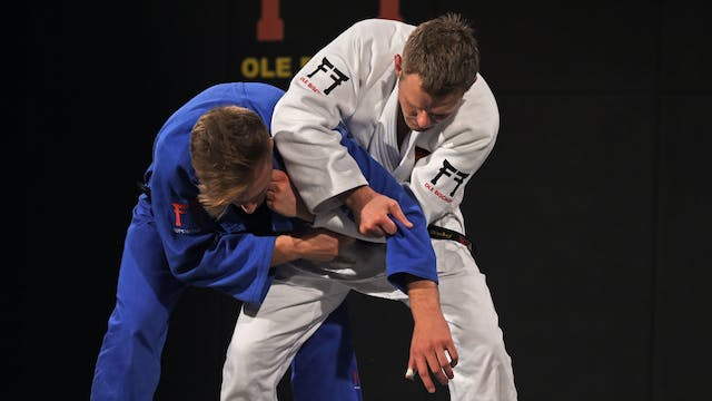 Kumi kata - Breaking high lapel grip ...