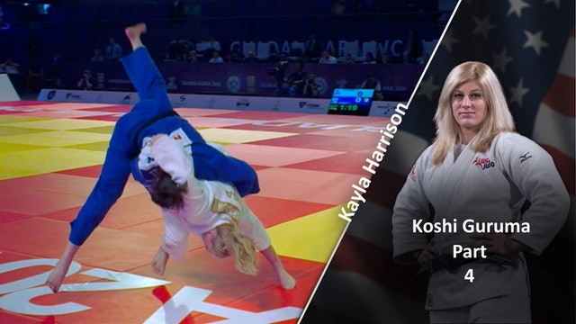 Koshi guruma - Execution & competition examples | Kayla Harrison