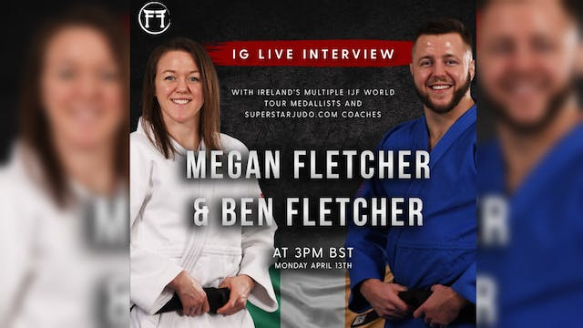 IG Live With Ben & Megan Fletcher