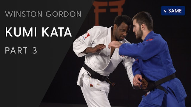 Catch and push across the body | Winston Gordon