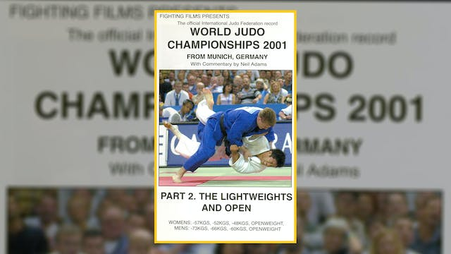 2001 World Judo Championships: Lightw...