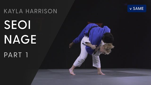 Seoi nage vs Same - Overview | Kayla ...