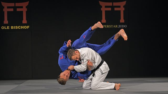 Cross grip Drop Seoi nage - Grips and...