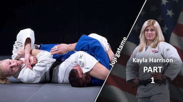 Juji gatame | Kayla Harrison