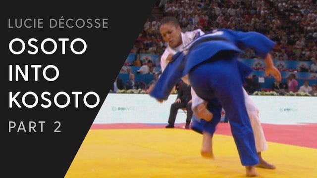 Competitive examples | Osoto into Kosoto combination | Lucie Décosse
