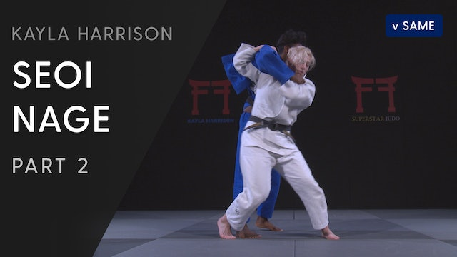 Seoi nage vs Same - Step by Step | Kayla Harrison