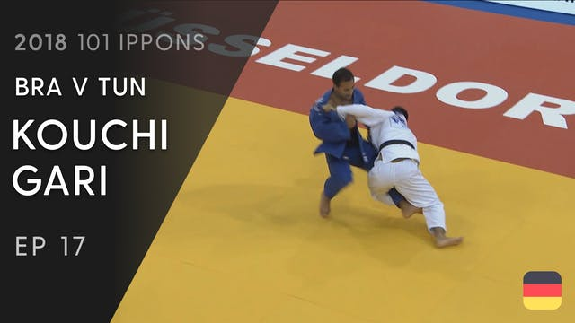 101: Kouchi gari - BRA v TUN -60kg