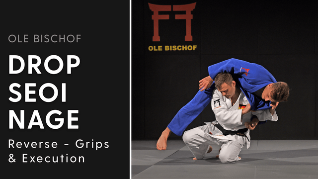 Reverse Seoi nage - Grips and execution | Ole Bischof