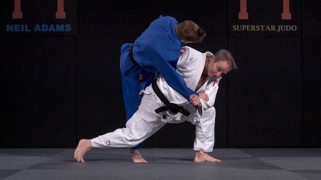 Abdulzhalilov's skipping Seoi otoshi | Neil Adams