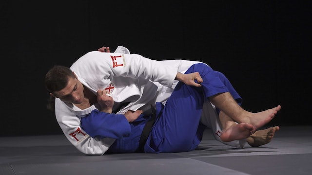 Double arm-roll - Releasing the leg | Liparteliani