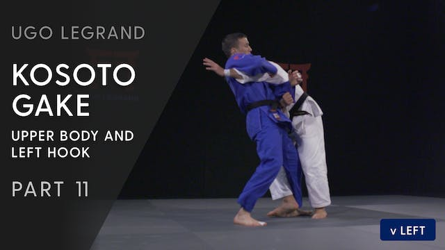Kosoto gake - Upper body & leg hook v...