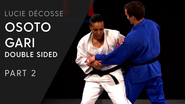 Pressure | Double sided Osoto gari | Lucie Décosse